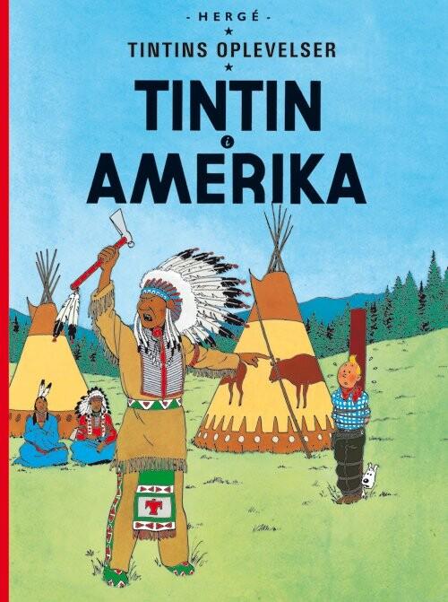 Tintin I Amerika - Hergé - Tegneserie