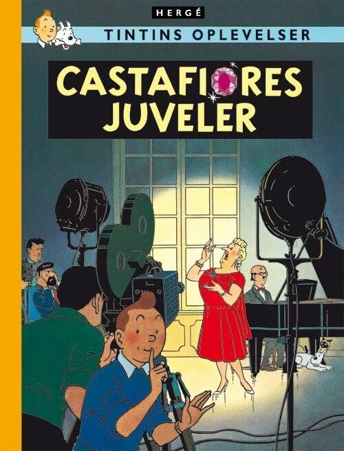Image of   Tintins Oplevelser: Castafiores Juveler - Hergé - Tegneserie