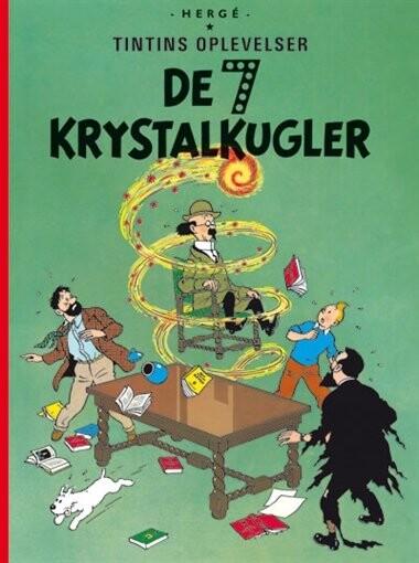 Image of   Tintins Oplevelser: De 7 Krystalkugler - Hergé - Tegneserie