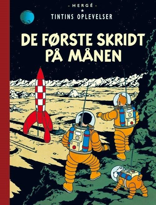 Image of   Tintins Oplevelser: De Første Skridt På Månen - Hergé - Tegneserie