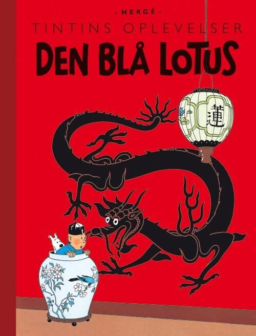 Image of   Tintins Oplevelser: Den Blå Lotus - Hergé - Tegneserie