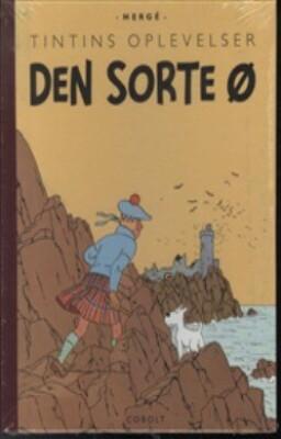 Tintins Oplevelser: Den Sorte ø - Hergé - Tegneserie