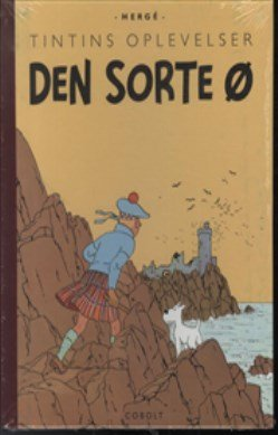Image of   Tintins Oplevelser: Den Sorte ø - Hergé - Tegneserie
