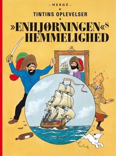 Tintins Oplevelser: Enhjørningens Hemmelighed - Gigant - Hergé - Tegneserie