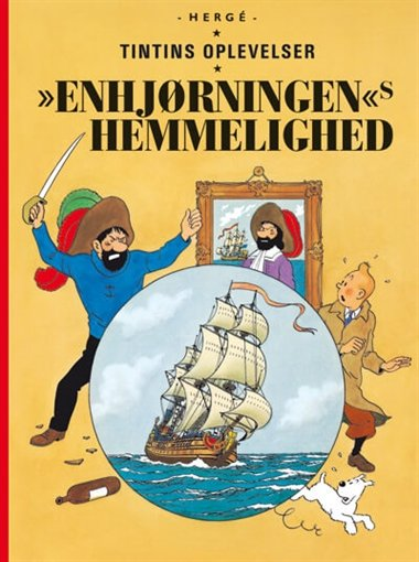 Image of   Tintins Oplevelser: Enhjørningen's Hemmelighed - Gigant - Hergé - Tegneserie