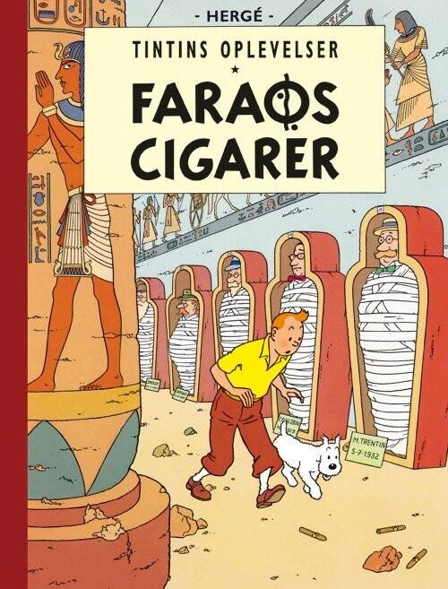 Billede af Tintins Oplevelser: Faraos Cigarer - Hergé - Tegneserie