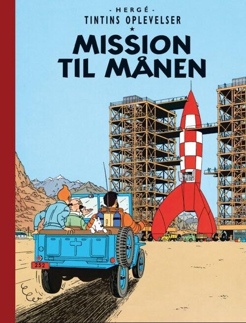 Billede af Tintins Oplevelser: Mission Til Månen - Hergé - Tegneserie