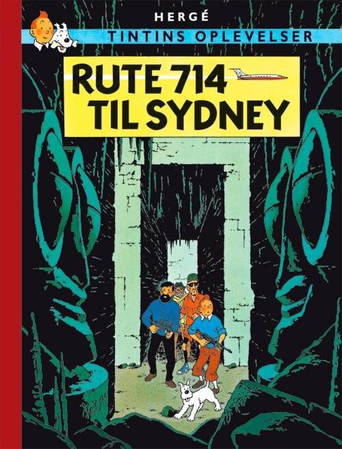 Billede af Tintins Oplevelser: Rute 714 Til Sydney - Hergé - Tegneserie