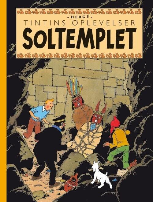 Billede af Tintins Oplevelser: Soltemplet - Hergé - Tegneserie