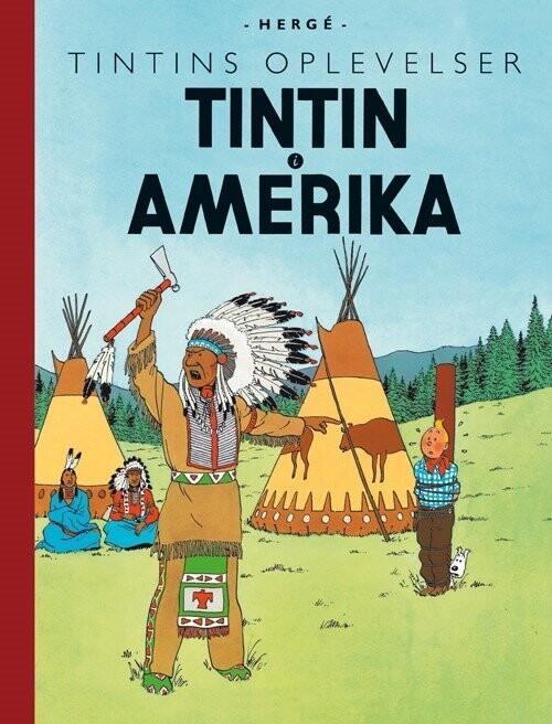 Billede af Tintins Oplevelser: Tintin I Amerika - Hergé - Tegneserie