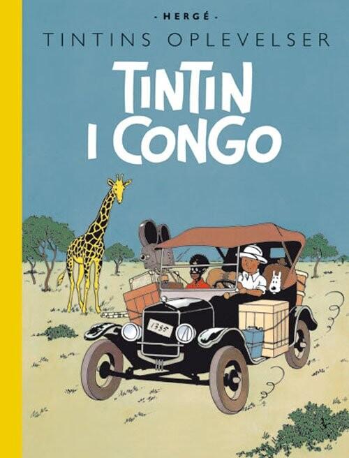 Billede af Tintins Oplevelser: Tintin I Congo - Hergé - Tegneserie