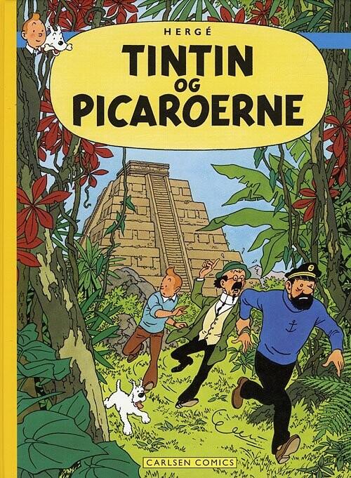 Billede af Tintins Oplevelser: Tintin Og Picaroerne - Hergé - Tegneserie