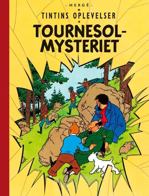 Billede af Tintins Oplevelser: Tournesol-mysteriet - Hergé - Tegneserie