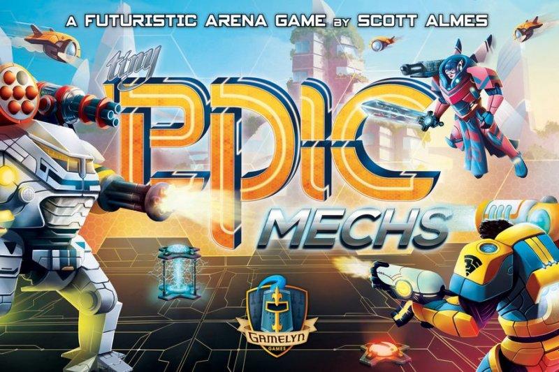 Tiny Epic Mechs - Brætspil På Engelsk
