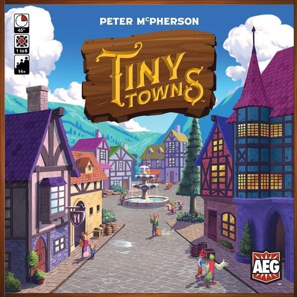 Tiny Towns - Brætspil På Engelsk
