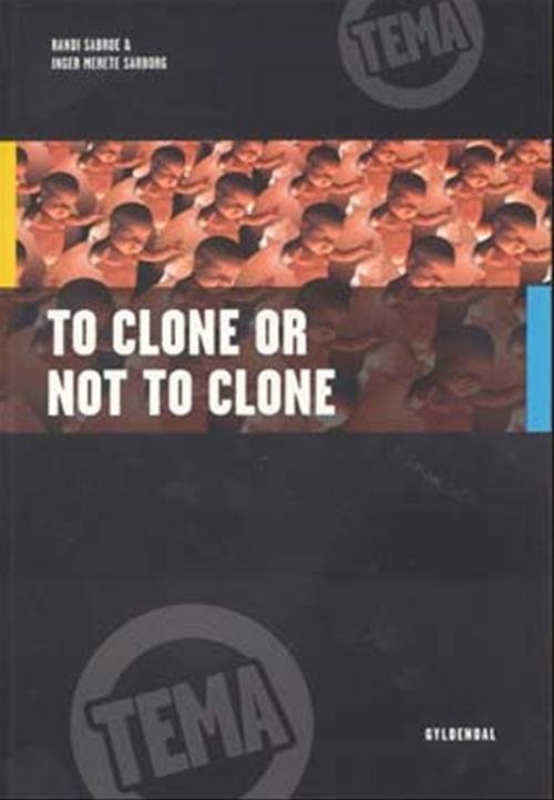 to clone or not to clone Human cloning is the creation of a genetically identical copy (or clone) of a human the term is generally used to refer to artificial human cloning,.