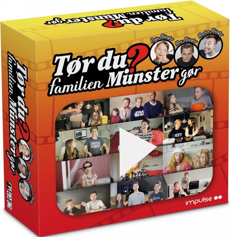 Tør Du? Familien Münster Gør - Brætspil