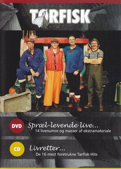 Billede af Tørfisk - Sprællevende Live - DVD - Film