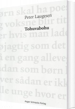 Image of   Tohuvabohu - Peter Laugesen - Bog