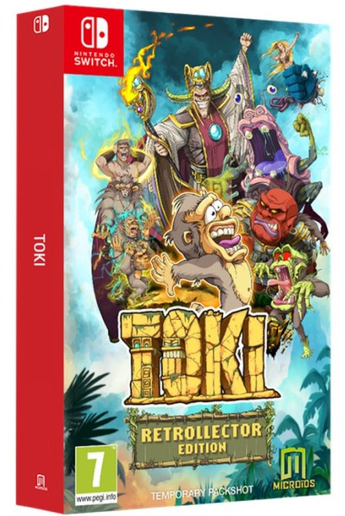 Image of   Toki - Retrocollector Edition - Nintendo Switch