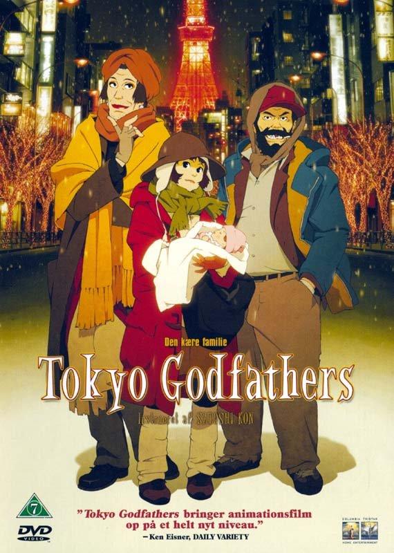 Billede af Tokyo Godfathers - DVD - Film