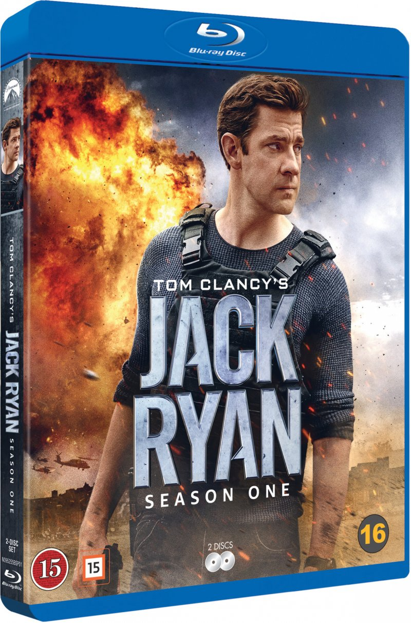 Image of   Tom Clancy's Jack Ryan - Sæson 1 - Blu-Ray - Tv-serie