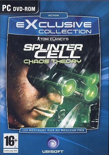 Image of   Tom Clancys Splintercell - Chaos Theory - Dk - PC