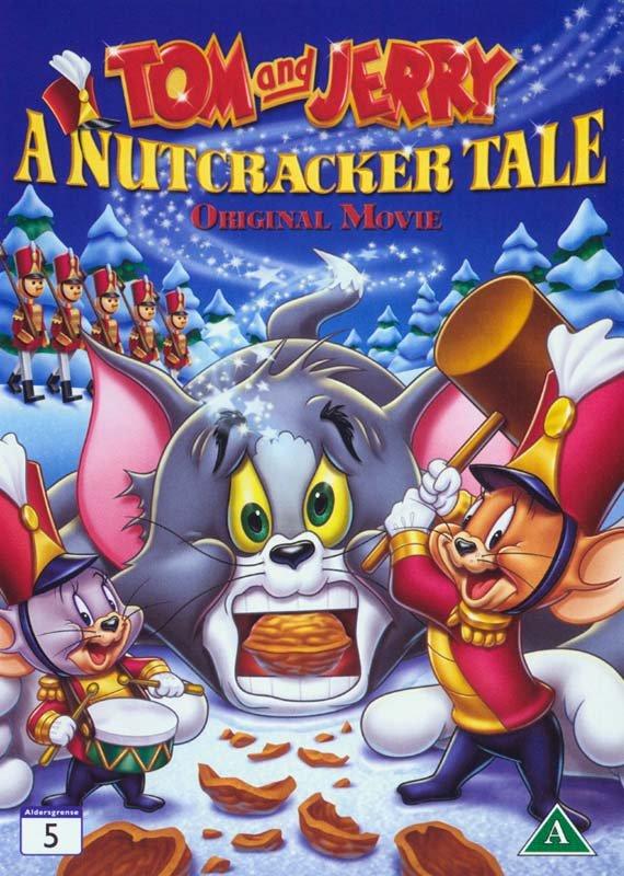 Image of   Tom Og Jerry - I Nøddeknækkeren - DVD - Film
