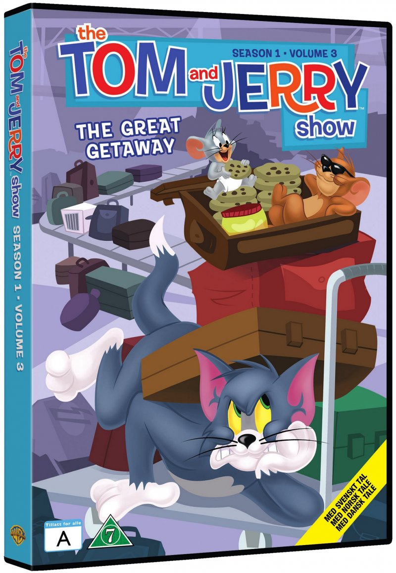 Billede af Tom Og Jerry - Sæson 1 - Volume 3 - DVD - Film