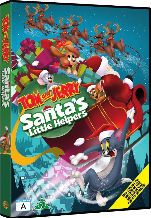 Image of   Tom Og Jerry - Santas Little Helpers - DVD - Film