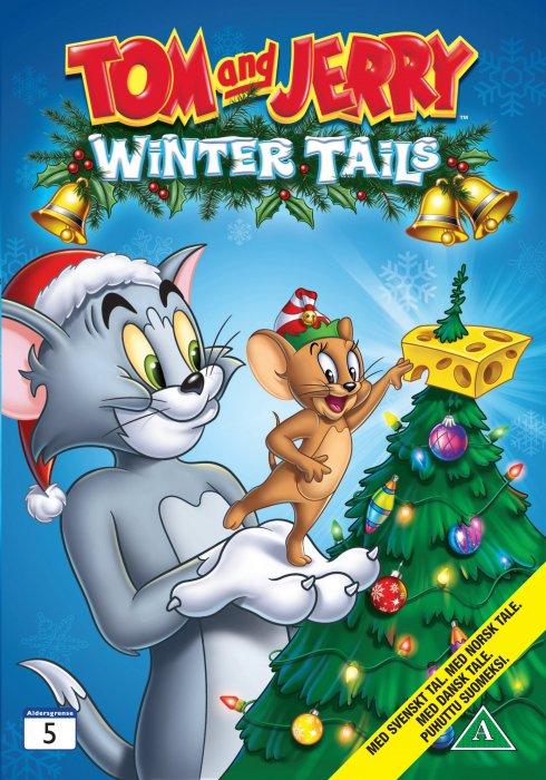 Image of   Tom Og Jerry - Vinter Fortællinger - DVD - Film