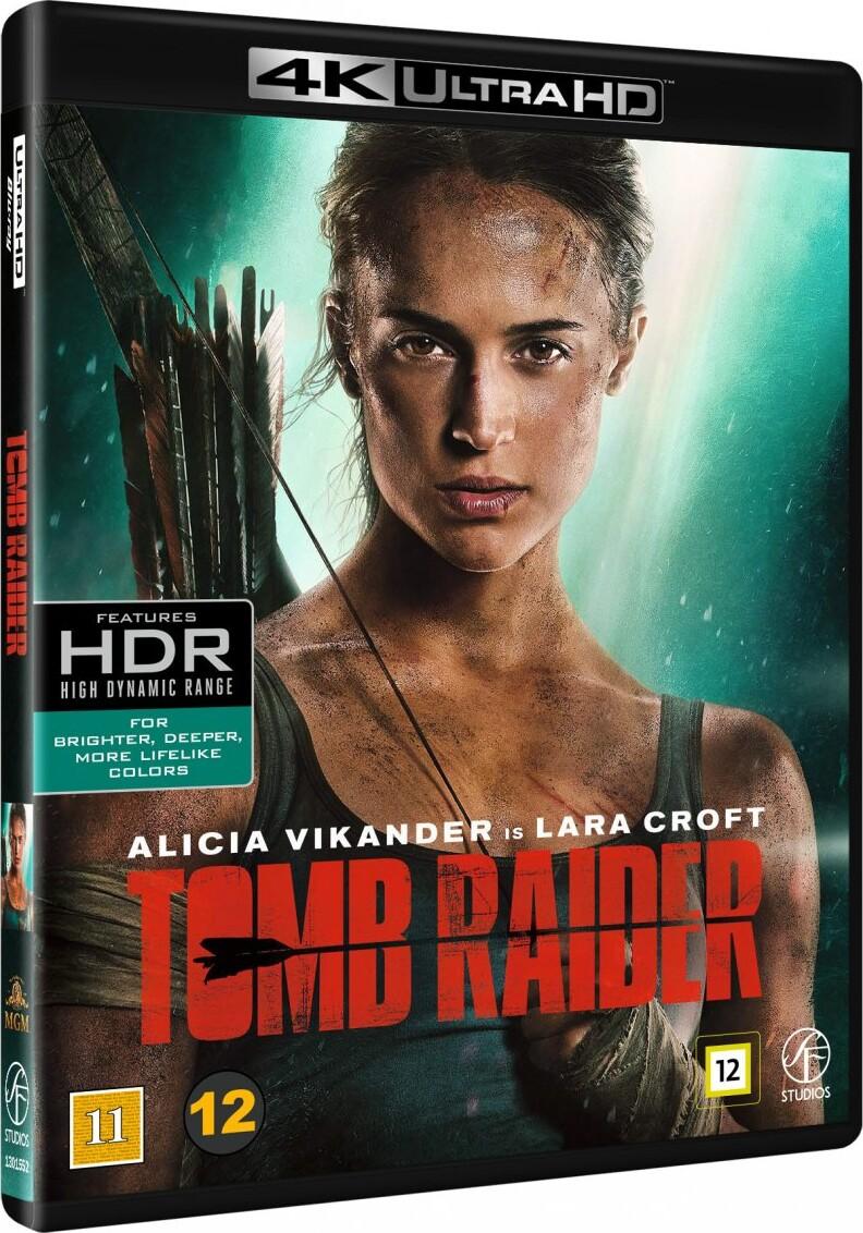 Image of   Tomb Raider - 2018 - 4K Blu-Ray