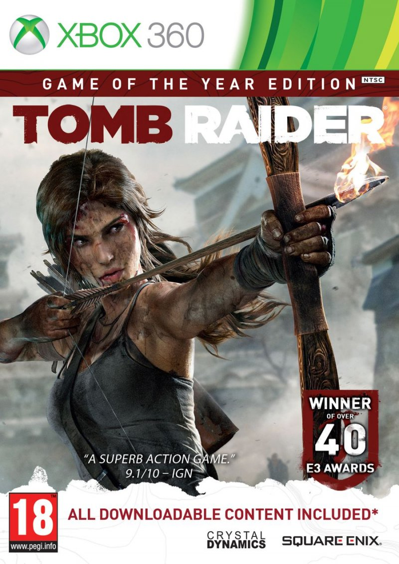 Image of   Tomb Raider - Game Of The Year Edition - Xbox 360