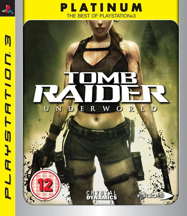 Tomb Raider: Underworld - Platinum - Dk - PS3