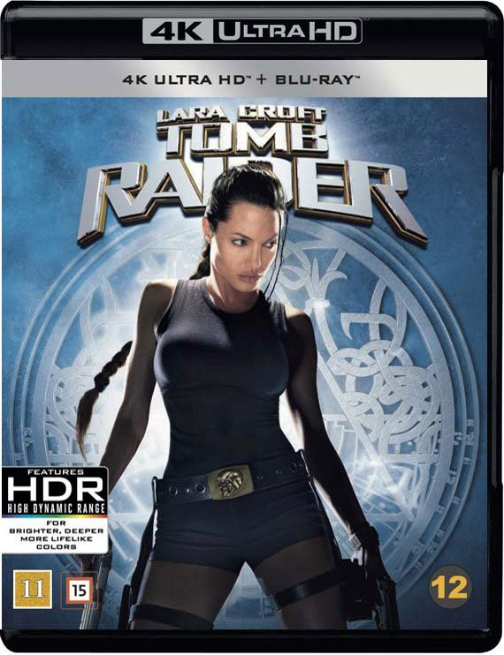 Image of   Tomb Raider - Angelina Jolie - 2001 - 4K Blu-Ray