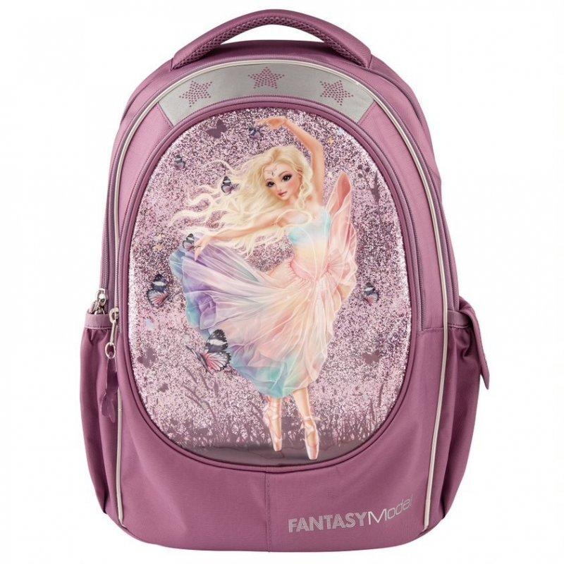 Top Model Fantasy Model Skoletaske Ballet Tema Pink