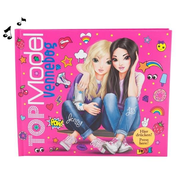 48170a73037 Top Model Venskabsbog Med Lys Og Lyd Pink 458743
