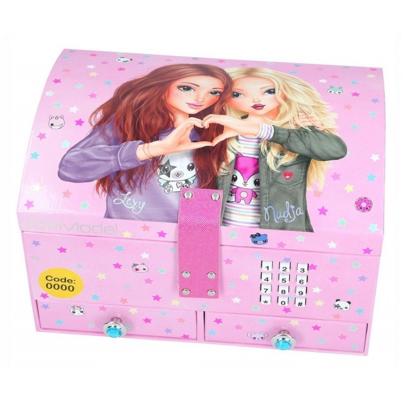 Topmodel - Big Jewellery Case With Code & Sound - Pink (0410163)