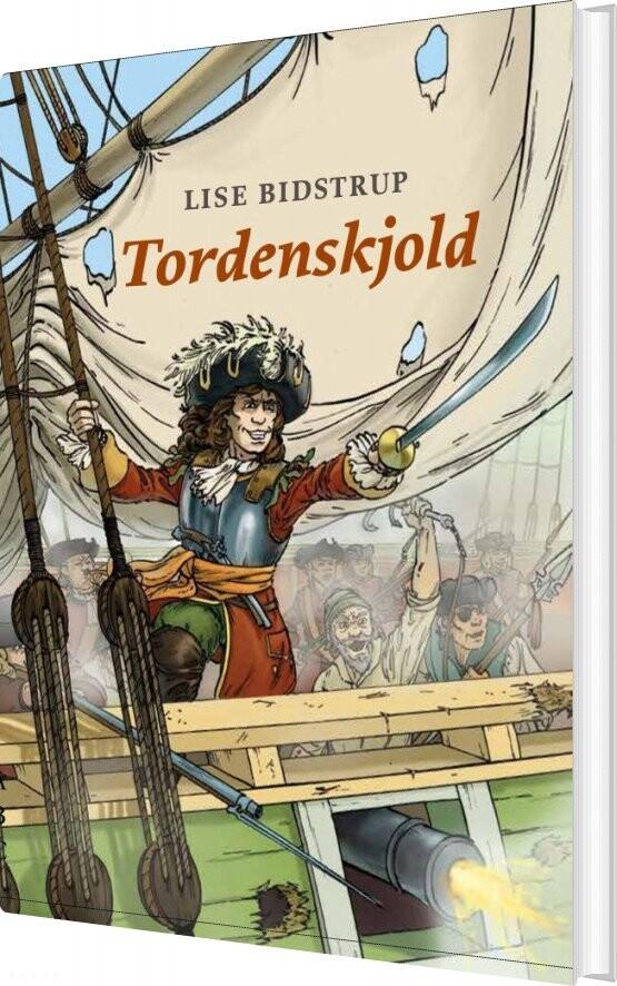 Image of   Tordenskjold - Lise Bidstrup - Bog