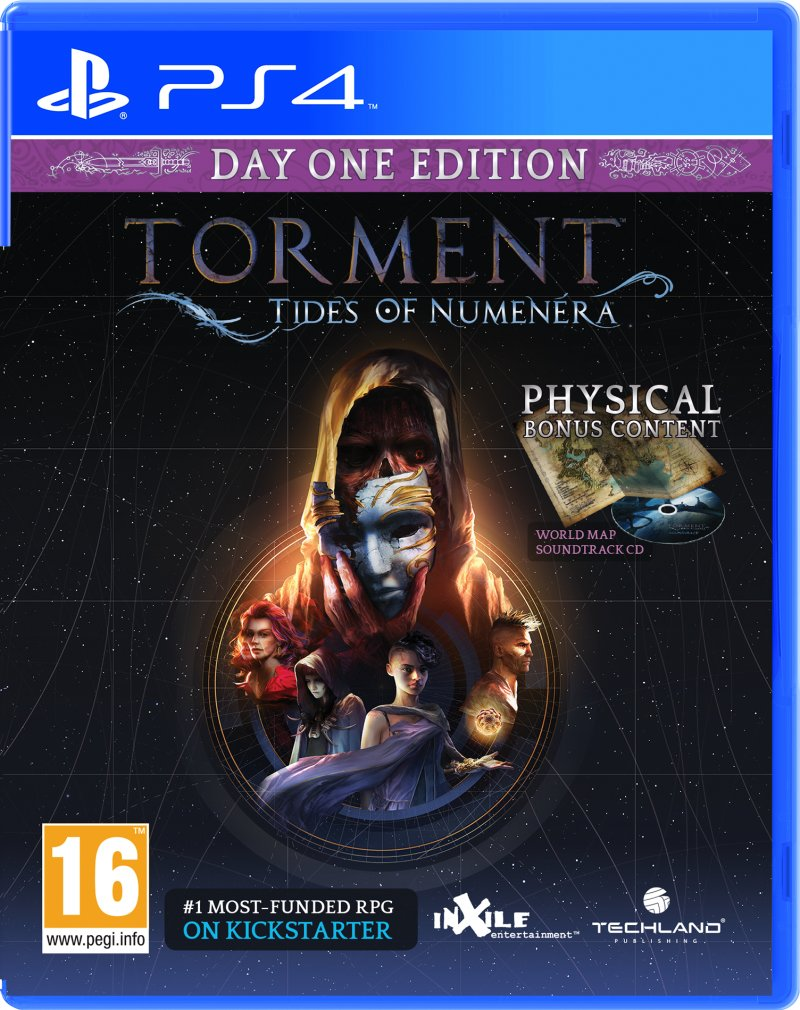 Image of   Torment: Tides Of Numenera (day 1 Edition) - PS4
