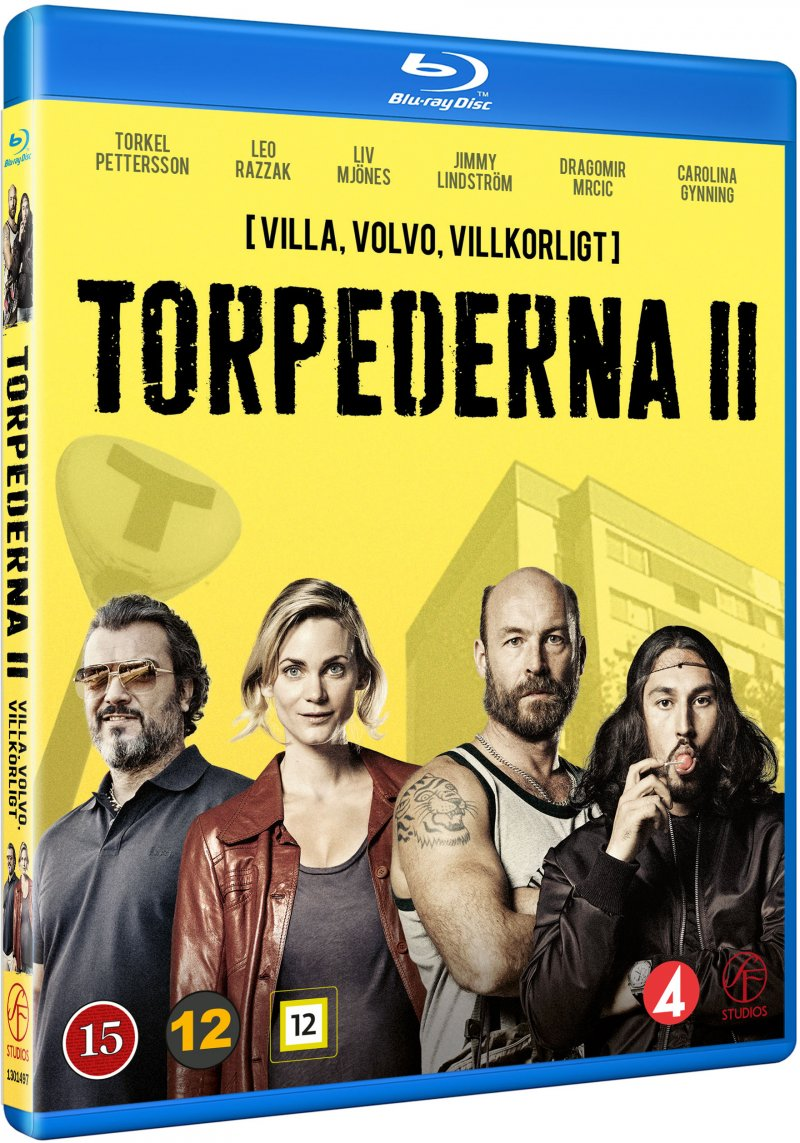 Image of   Torpederna - Sæson 2 - Blu-Ray - Tv-serie