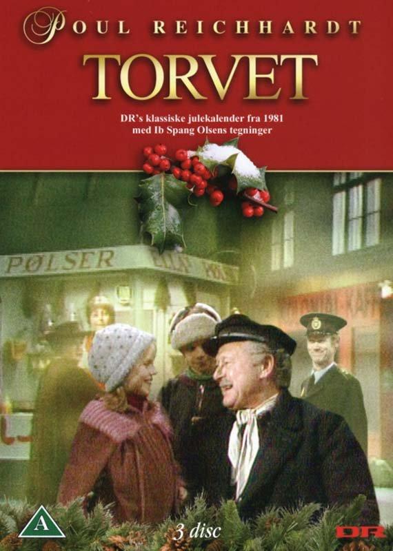 Torvet / Jul På Torvet - Dr Julekalender - DVD - Tv-serie