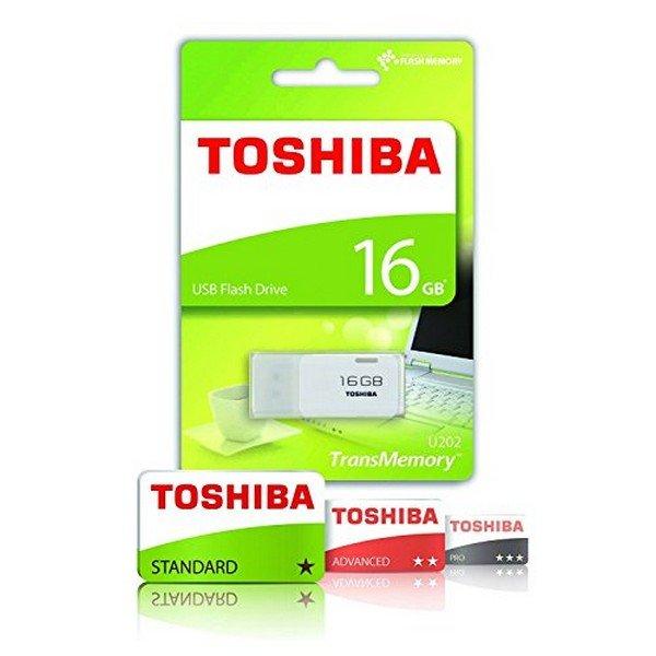 Image of   Toshiba Usb Stik - 16gb - U202 - Hvid