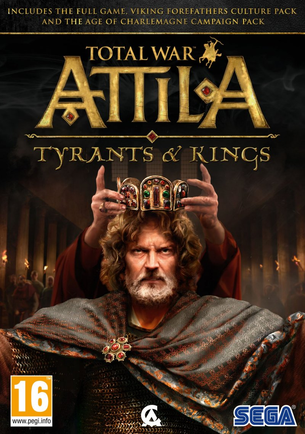 Image of   Total War: Attila - Tyrants & Kings - PC