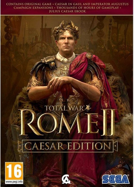 Image of   Total War: Rome 2 - Caesar Edition - PC