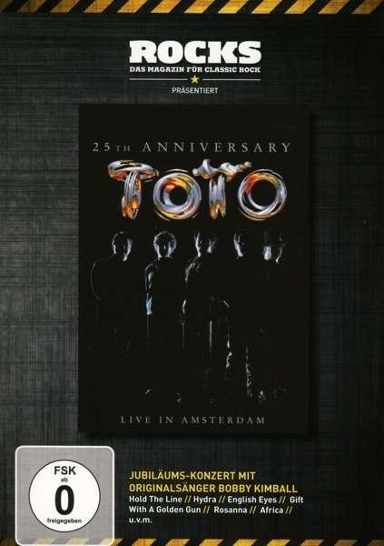 Image of   Toto - 25th Anniversary - Live In Amsterdam - DVD - Film