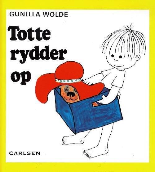 Image of   Totte Rydder Op (3) - Gunilla Wolde - Bog