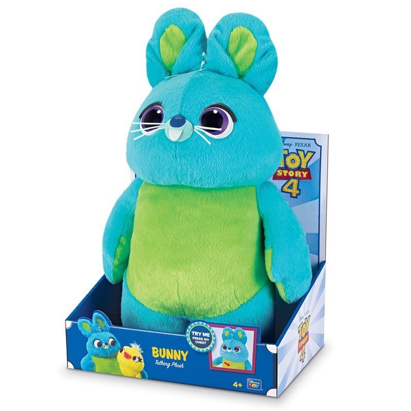 Toy Story 4 - Deluxe Kanin Bamse - Talende Furry