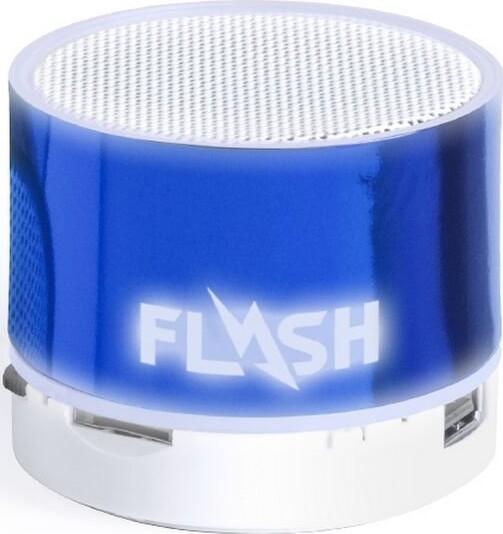 Trådløs Bluetooth Højtaler Med Fm Radio – 10 M – Blå