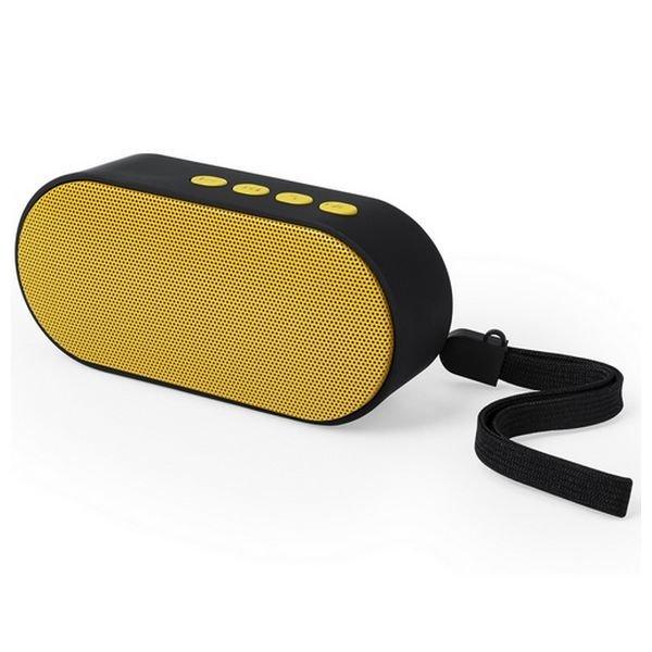 Trådløs Bluetooth Højtaler Med Fm-radio – 10 M Rækkevidde – Gul